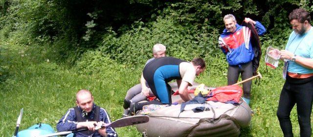 AUSTRIA 2004 czyli czas na zmianę pontonu