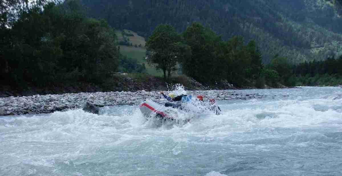 Isel_raftstrecke_czerwiec 2005