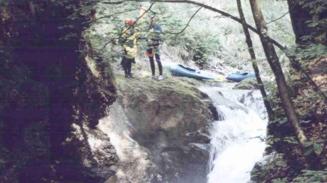 Radmer_powyżej wodospadu_czerwiec 1999
