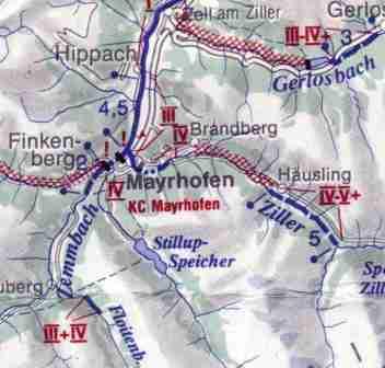 Ziller- mapa sytuacyjna