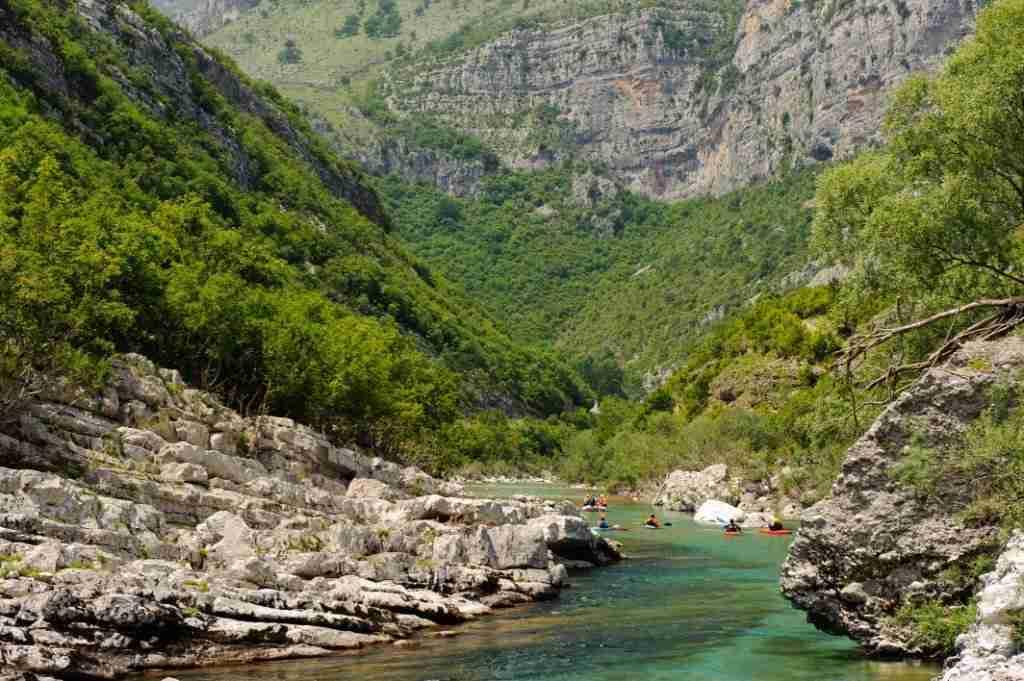 Rzeka za bystrzem