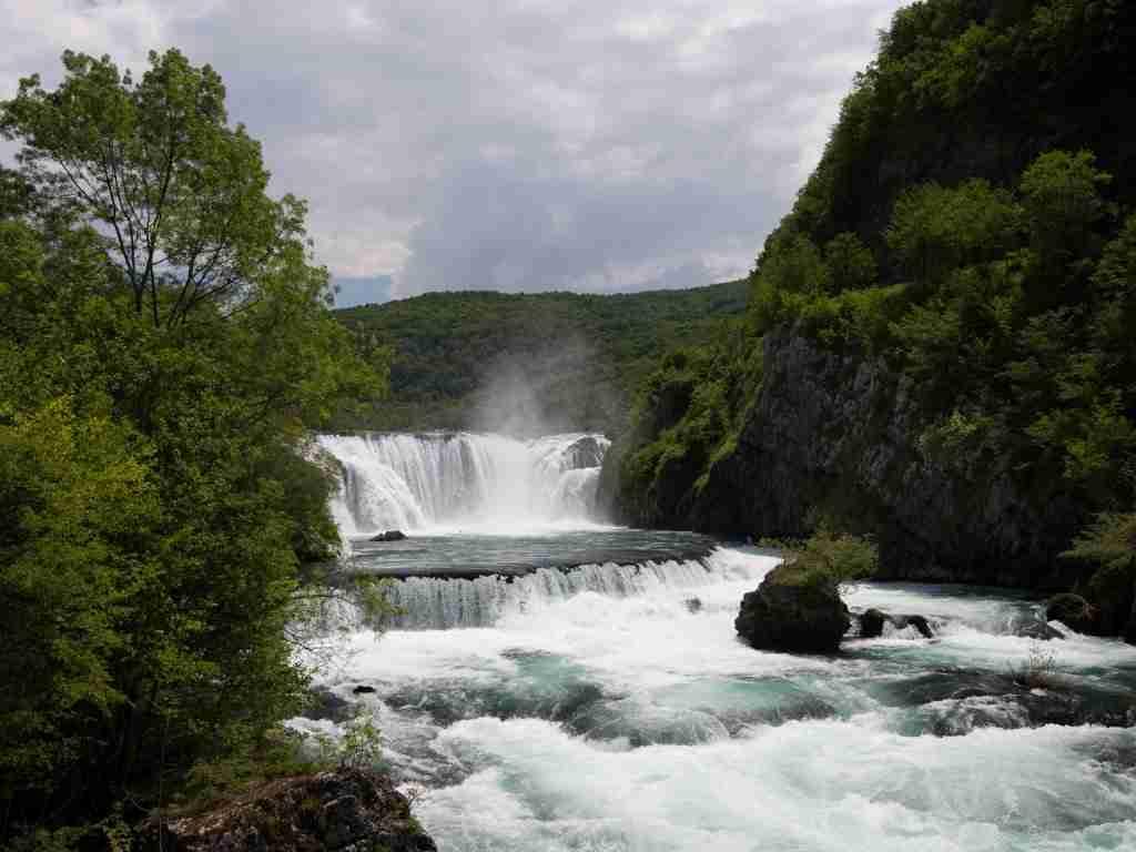 Ikona Parku - wodospad w Strbackim Buku